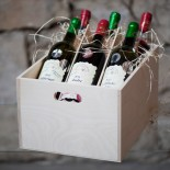 Medal collection of 6 awared wines in gift box