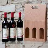 Set of 3 red wines