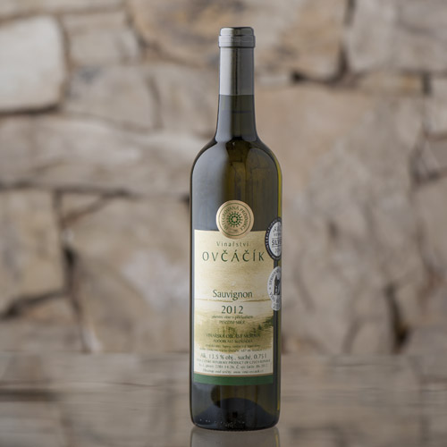 Sauvignon pozdní sběr 2012, Vinařství Ovčáčík, Velehrad 0,75l