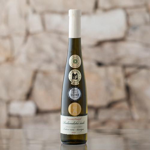 Rulandské šedé ledové víno 2010, Vinařství Ovčáčík, Velehrad 0,375l