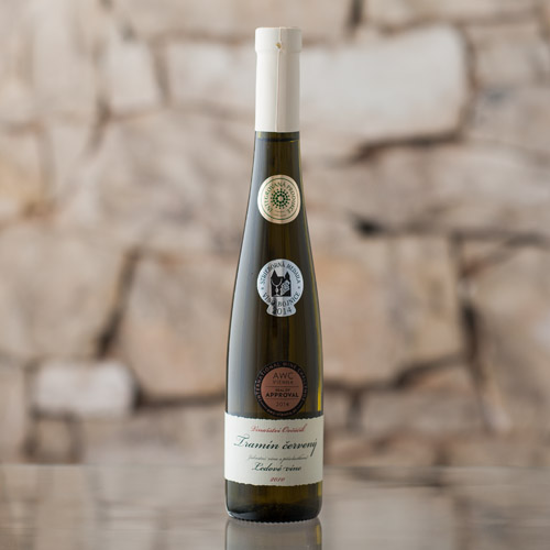 Tramín červený ledové víno 2010, Vinařství Ovčáčík, Velehrad 0,375l