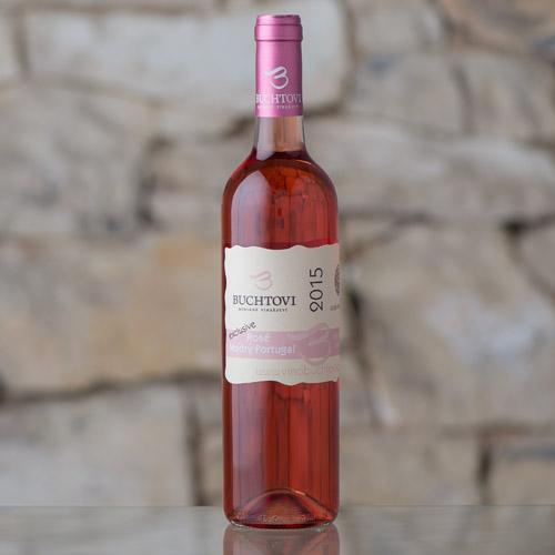 Modrý Portugal Rosé Exclusive kabinetní 2015, Vinařství Buchtovi, Velké Pavlovice 0,75l