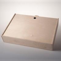 Dárkový dřevěný kufr na 6 láhví