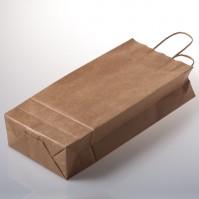 Taška ze sulfátového papíru na 2 láhve