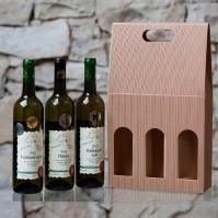 Výběr 3 výjimečných bílých vín v dárkovém balení
